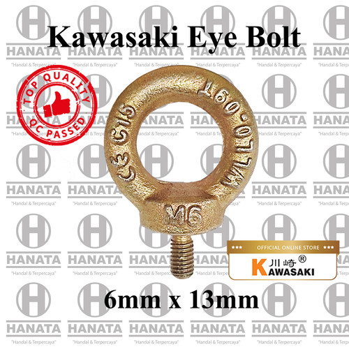Foto Produk Kawasaki Eye Bolt 6mm dari Hanata Lifting Official