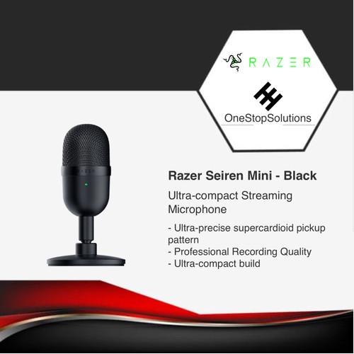 Foto Produk Razer Mic Seiren Mini - Black dari OneStopSolutions