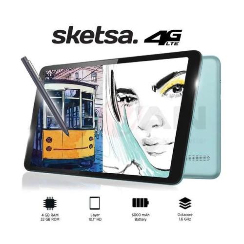 "Foto Produk Advan Tab Sketsa 10"" 4GB 32GB Octacore Android 9 Garansi Resmi dari Utomo Brother"