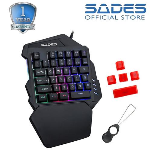 Foto Produk Keyboard Gaming Sades Single-Hand Revolver TS-36 dari Sades Official Store