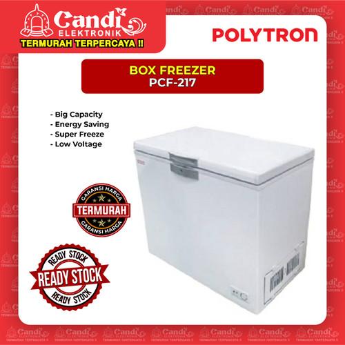 Foto Produk BOX FREEZER 200 LITER POLYTRON PCF-217 dari Candi Elektronik Solo