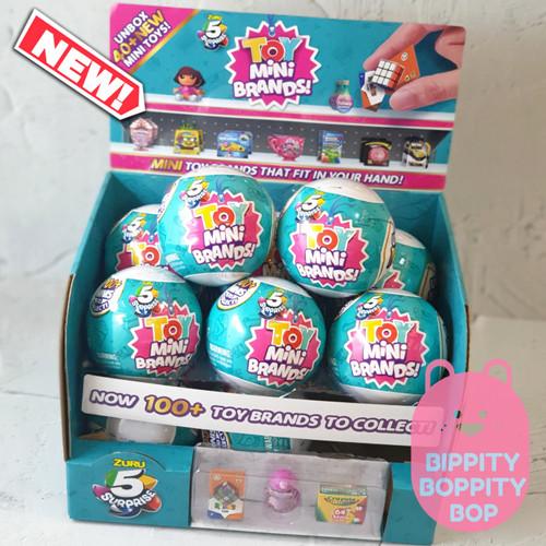 Foto Produk Zuru 5 Surprise Toy / Toys Mini Brands dari Bippity Boppity Bop