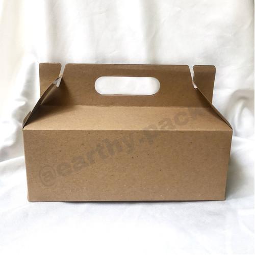 Foto Produk Lunch Box Paper Carry Kraft dari Earthy Pack