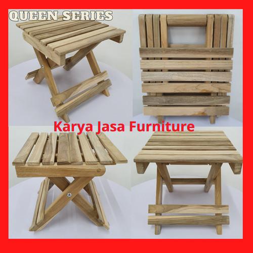 Foto Produk KURSI PANCING LIPAT KAYU JATI (STANDARD) dari Karya Jasa Furniture Manufacturer
