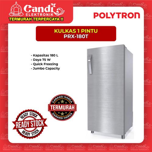 Foto Produk KULKAS 1 PINTU POLYTRON PRX-180T dari Candi Elektronik Solo