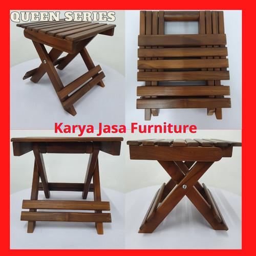 Foto Produk KURSI PANCING LIPAT KAYU JATI (QUEEN) dari Karya Jasa Furniture Manufacturer