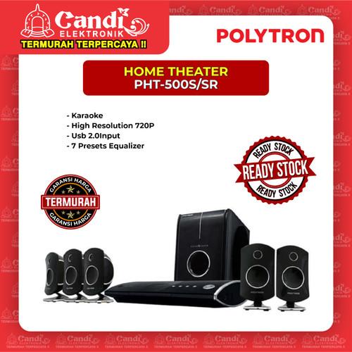 Foto Produk POLYTRON HOME THEATER PHT-500S/SR dari Candi Elektronik Solo