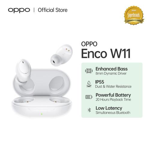 Foto Produk OPPO Enco W11 Wireless Earphone (Garansi Resmi) dari OPPO OFFICIAL STORE