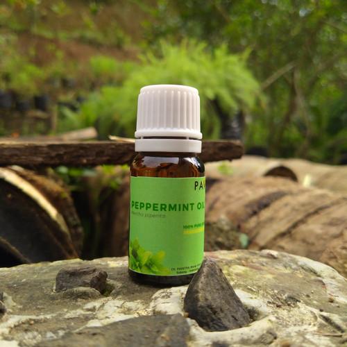 Foto Produk 10 ml sampel - minyak peppermint / peppermint oil (Mentha piperita) dari pavettia essential oil