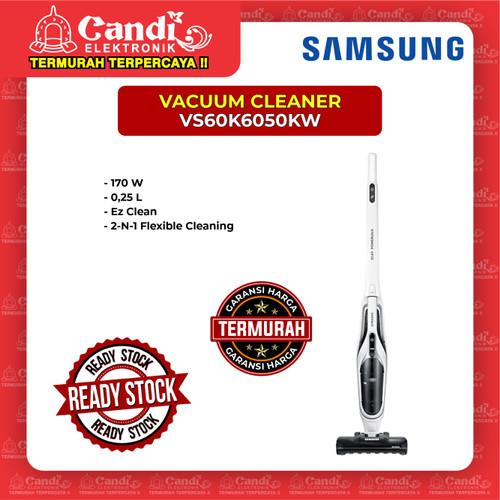 Foto Produk VACUUM CLEANER POWER STICK SAMSUNG VS60K6050KW dari Candi Elektronik Solo