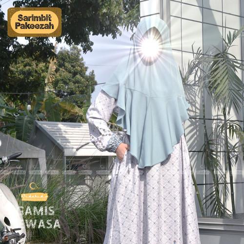Foto Produk Gamis Dewasa Pakeezah set Jilbab by Oidokids dari kedai berkah