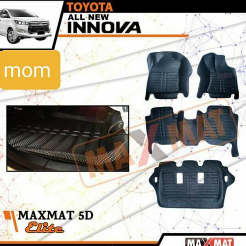 Foto Produk Karpet mobil maxmat 5d tipe elite black khusus All new innova reborn dari Mega Oriental Motor