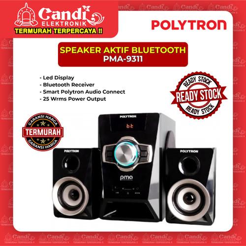 Foto Produk SPEAKER AKTIF BLUETOOTH POLYTRON PMA-9311 dari Candi Elektronik Solo
