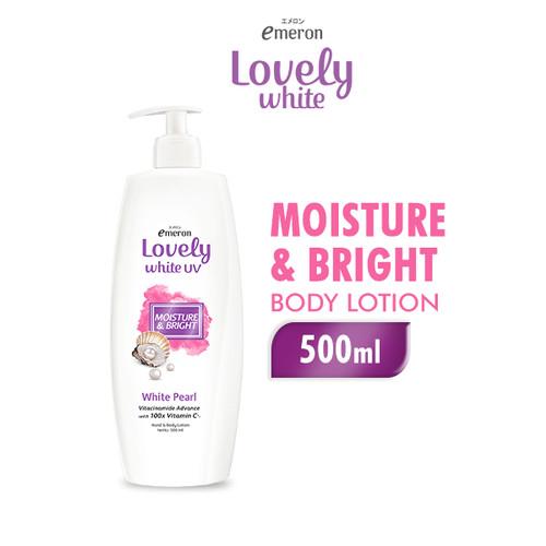 Foto Produk Emeron Lovely White Body Lotion Healthy White 500 ml dari Wings Official Store