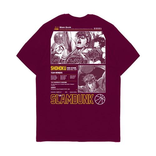 Foto Produk Kaos Pria Kizaru T-Shirt Anime SLAM DUNK - S dari KIZARU WORLD