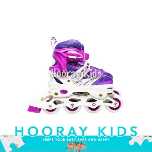 Foto Produk Sepatu Roda Anak Power Inline Skate Laki laki & Perempuan Ukuran S,M,L dari Hooray Kids