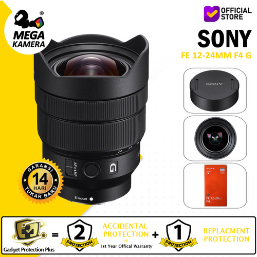 Foto Produk Lensa Sony FE 12-24mm f/4 G Lens dari Megakamera