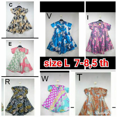 Foto Produk Daster klok batik anak perempuan size 0-9 th - K dari Asanka shop