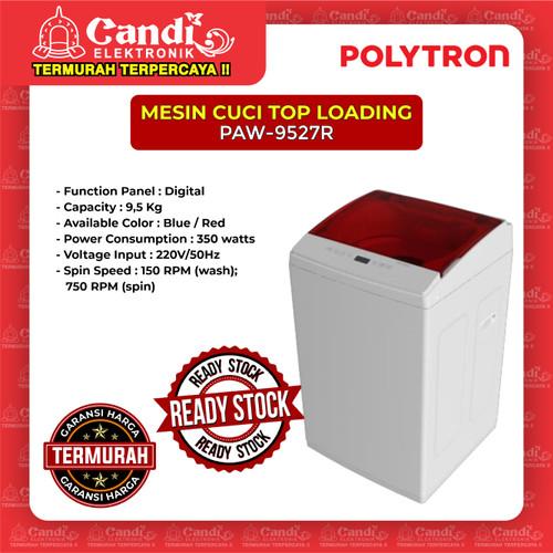 Foto Produk MESIN CUCI 1 TABUNG POLYTRON PAW-9527R dari Candi Elektronik Solo