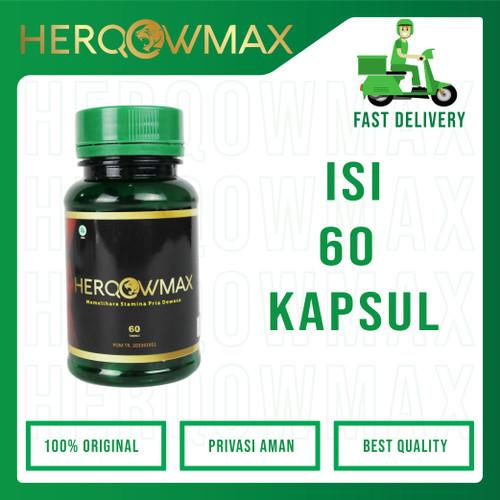 Foto Produk ✔HERQOWMAX  Suplemen Herbal Alami (BPOM) dari herqowmax