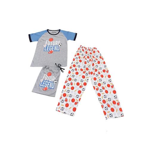 Foto Produk Piyama Anak Short Shirts Future Legend SSLP60 - 10 dari Boboo Kids