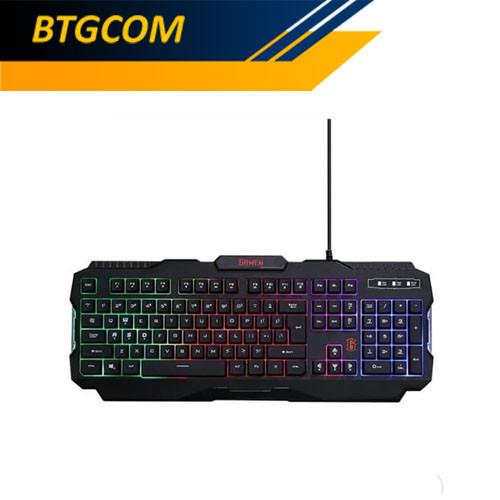 Foto Produk Gamen GK100 Rainbow Backlight Gaming Keyboard dari BTGCOM