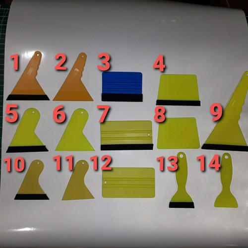 Foto Produk Rakel alat bantu pasang sticker - no 1 dari Detail Sticker 01