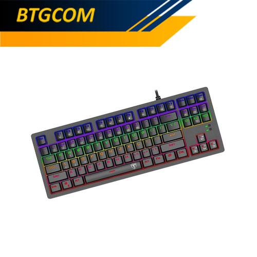 Foto Produk T-Dagger Bali T-TGK311-BL RGB Backlight Mechanical Gaming Keyboard dari BTGCOM