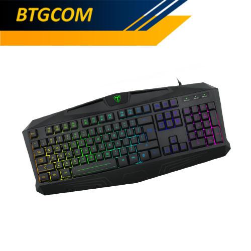 Foto Produk T-Dagger Tanker T-TGK202 RGB Backlight Gaming Keyboard dari BTGCOM