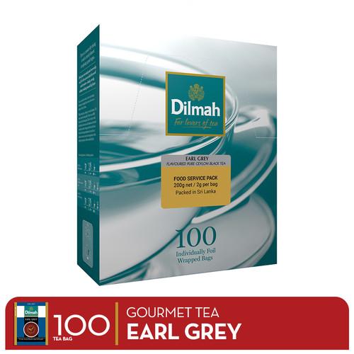 Foto Produk Dilmah Gourmet Tea Earl Grey - Envelope 100s dari DRI Shop