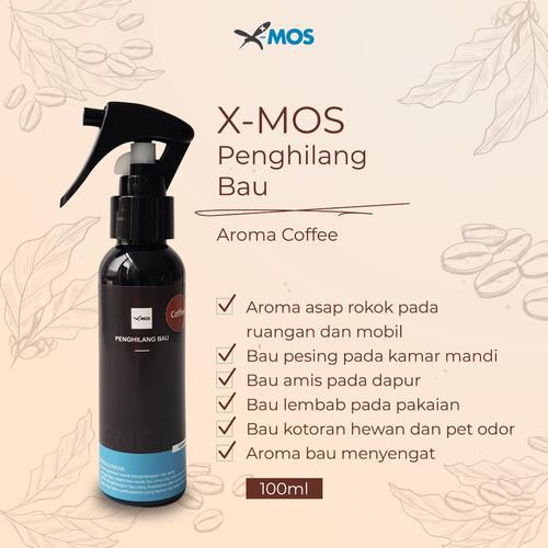Foto Produk X-MOS Penghilang Bau 100ml - coffee dari X-MOS Technology