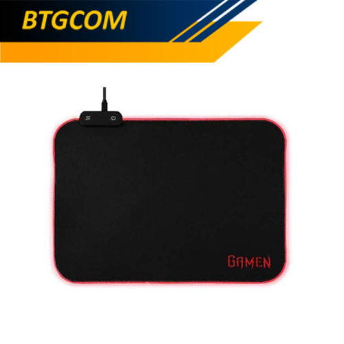 Foto Produk Gamen GP-HALO 250x350x3mm RGB Gaming Mousepad dari BTGCOM