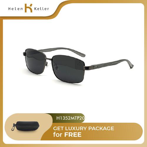 Foto Produk HELEN KELLER-Kacamata Hitam-Sunglasses Pria-UV-H1352MT-P20-Black dari Helen Keller Official