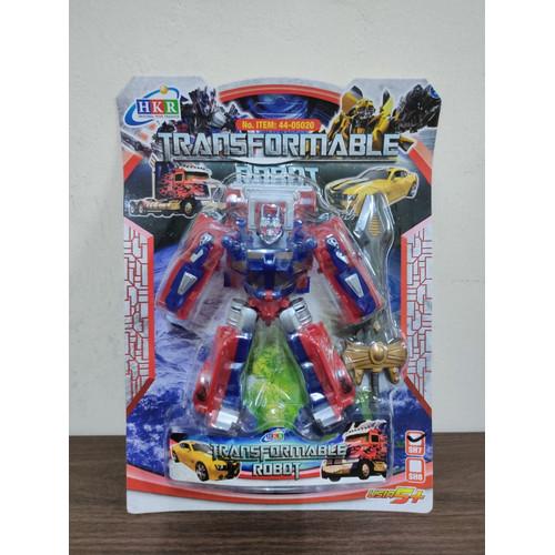 Foto Produk Mainan Anak Robot Transformer Optimus Prime & Bumblebee - Optimus Prime dari Toys Fairy