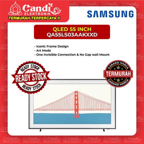 Foto Produk SMART TV LIFE STYLE LED TV SAMSUNG 55 INCH QA55LS03AAKXXD dari Candi Elektronik Solo
