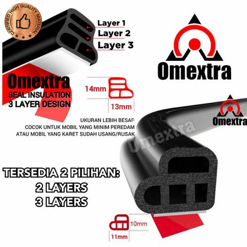 Foto Produk Car Door Insulation Omextra Segel Karet Peredam Suara Pintu Mobil Debu dari OMEXTRA
