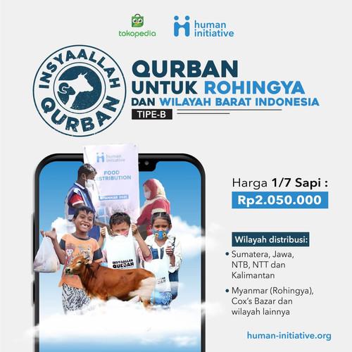 Foto Produk Hewan Qurban 1/7 Sapi Tipe B dari Human Initiative