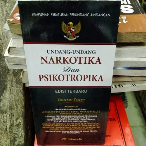Foto Produk Undang Undang Narkotika dan Psikotropika Edisi Terbaru dari andrebuku