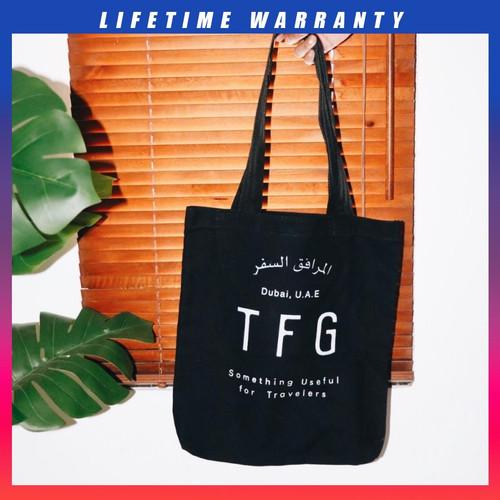 Foto Produk TOTE BAG TFG KOBE 306 BLACK dari TFG (Taylor Fine Goods)