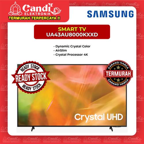 Foto Produk SMART TV LED TV SAMSUNG 43 INCH UA43AU8000KXXD dari Candi Elektronik Solo