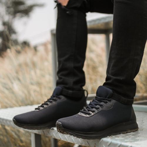 Foto Produk Redknot Expansion Hitam Sol Hitam Sepatu Sneakers Pria - 41 dari Redknot