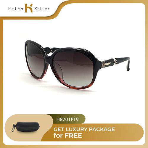 Foto Produk HELEN KELLER-Kacamata Hitam Wanita UV Protection-H8201P-19Maroon dari Helen Keller Official