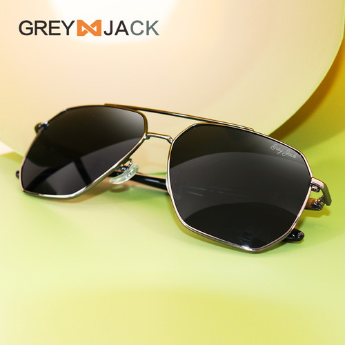 Foto Produk Grey Jack/ Kacamata Hitam Pria dan Wanita / Sunglasses / 3097 - gun black dari Grey Jack