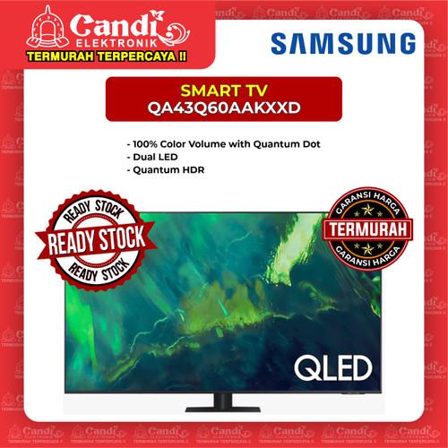 Foto Produk SMART TV QLED TV SAMSUNG 43 INCH QA43Q60AAKXXD dari Candi Elektronik Solo