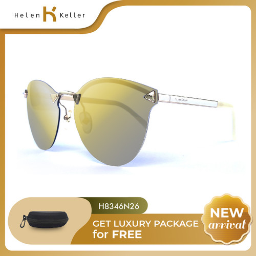 Foto Produk HELEN KELLER - Kacamata Fashion Wanita - Anti UV - Polarized -H8346N26 dari Helen Keller Official