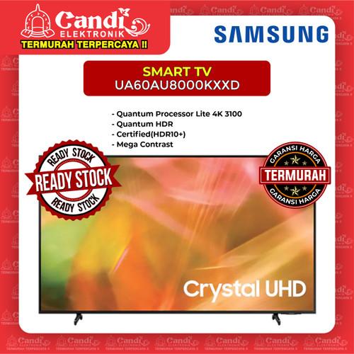 Foto Produk SMART TV LED TV SAMSUNG 60 INCH UA60AU8000KXXD dari Candi Elektronik Solo