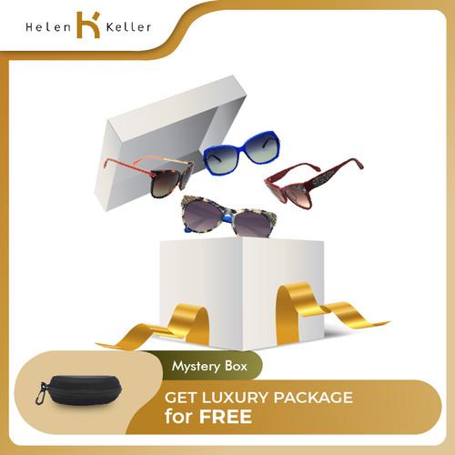 Foto Produk [CUCI GUDANG TERMURAH] Helen Keller Mystery Box Kacamata Hitam Wanita dari Helen Keller Official