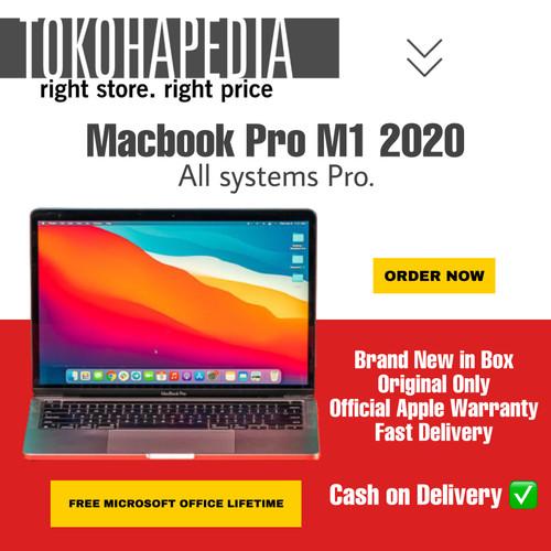 """Foto Produk Apple MacBook Pro M1 Chip 2020 13"""" 256GB / 512GB SPACE GRAY, SILVER - PRE ORDER dari tokohapedia"""