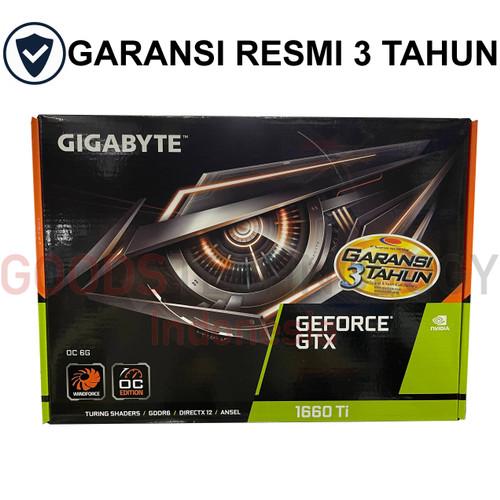Foto Produk Gigabyte GeForce GTX 1660 Ti OC 6GB GDDR6 1660Ti dari GoodsTechID