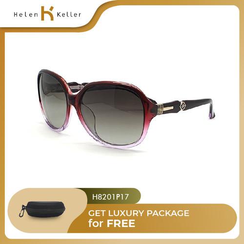 Foto Produk HELEN KELLER-Kacamata Hitam Wanita UV Protection-H8201-P17-PurpleRed dari Helen Keller Official